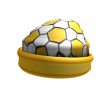 Golden Soccer Beanie