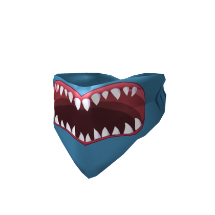 Shark Mouth Bandana | Roblox Wikia | Fandom