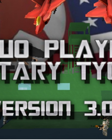 Two Player Military Tycoon Roblox Wikia Fandom