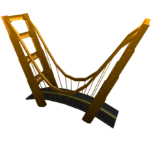 The Golden Golden Gate Bridge