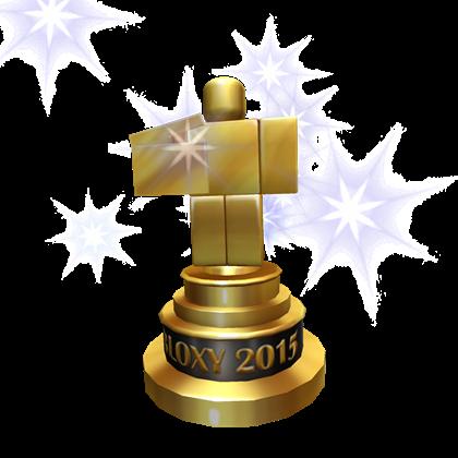 2015 Bloxy Award Roblox Wikia Fandom Powered By Wikia
