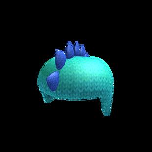 Blue Knitted Beanie Dino | Roblox Wikia | FANDOM powered ...