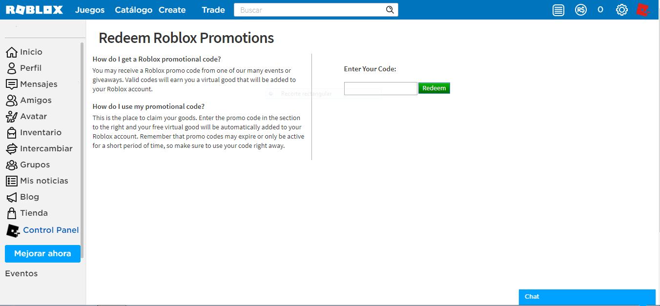 Códigos promocionales | Wiki Roblox | FANDOM powered by Wikia