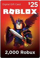 $25 Roblox Card (Digital Code)