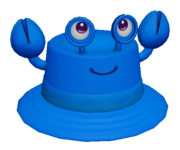 Blue Crabby Hat