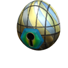 Stained Glass Egg (Keyhole)
