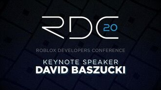 Founder & CEO David Baszucki Keynote RDC 2020