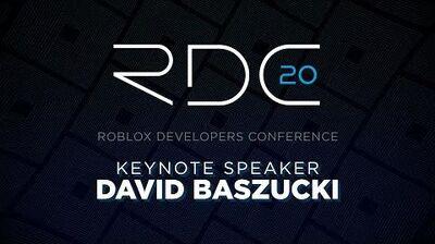 Founder & CEO David Baszucki Keynote RDC 2020
