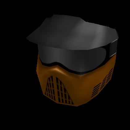 Orange Paintball Mask Roblox Wikia Fandom