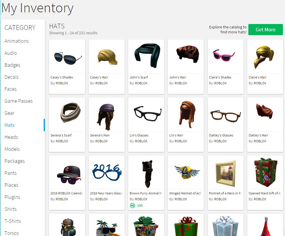 Inventory Roblox Wikia Fandom
