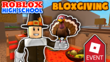 ROBLOX High School 2017 Thankgiving Thumbnail