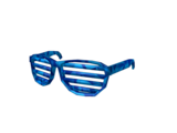 7c51b1eac7a7f Sparkle Time Chicken · Blue Sparkle Time Shutter Shades