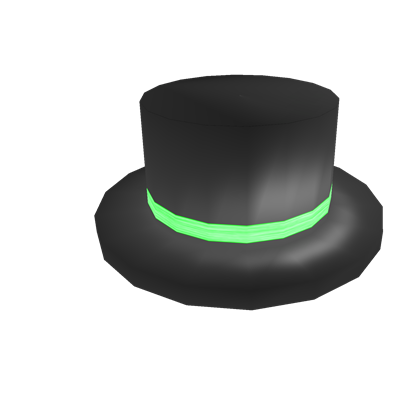 Green Banded Top Hat  d78a0538323e