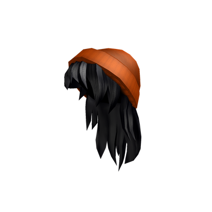 black and red hair roblox code