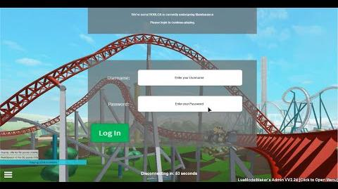 Video Roblox How To Avoid The Fake Maintenance Gui Roblox