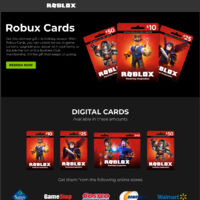 Gift Cards Promotion Roblox Wikia Fandom