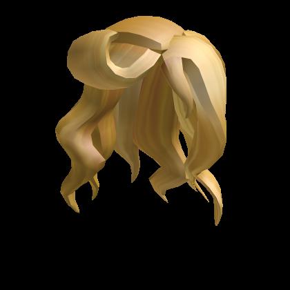 Blonde Mermaid Hair Roblox Wikia Fandom