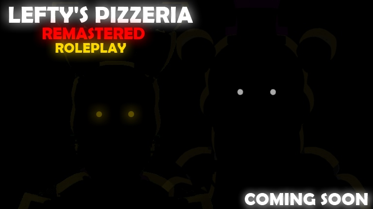 Fnaf 6 Lefty Pizzeria Roleplay Remastered Roblox Wikia Fandom