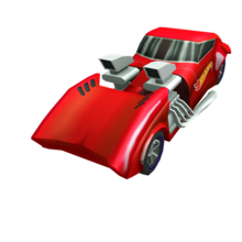 Red Hot Wheels Twin Mill 7