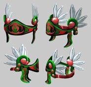 Unused Festive Sword Valkyrie