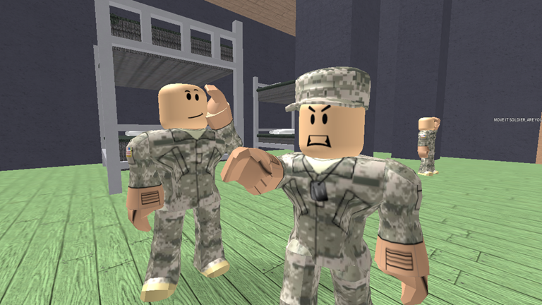 Roblox British Army Military Police Military