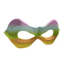 Rainbow Hero Mask
