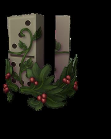 Festive Domino Crown Roblox Wikia Fandom