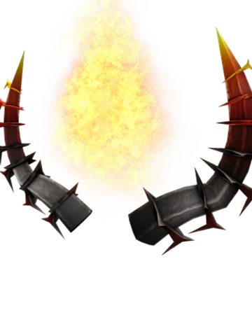 Fiery Horns Of The Netherworld Roblox Wikia Fandom