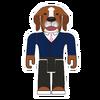 White Collar Dog