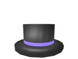 BIG: Purple Banded Top Hat