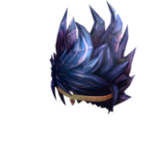 Crystello the Crystal God - Crystalline Hair