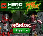 LEGO Hero Factory Brain Attack Ad 1