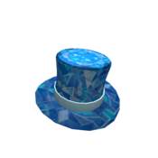 Sparkle Time Sapphire Top Hat
