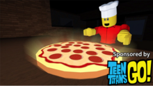 Work at a Pizza Place Teen Titans Go! Thumbnail