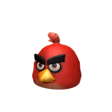 Angry Birds Red's Mask