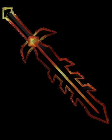 Cartoony Demon Sword Roblox Wikia Fandom