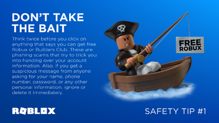 Don't Take the Bait - Roblox