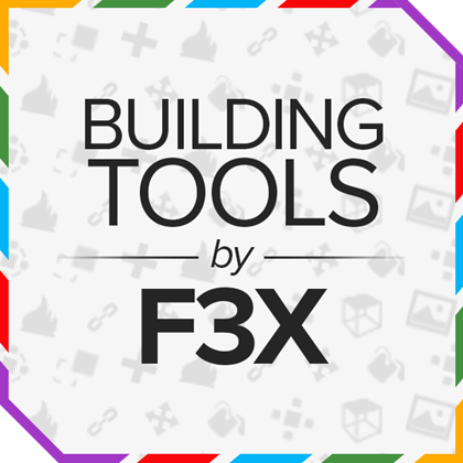 Building Tools by F3X   Roblox Wikia   FANDOM powered by Wikia