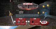 ROBLOX Battle Arena 2016 Event Page