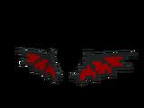 Crimson Dragon 8-Bit Wings