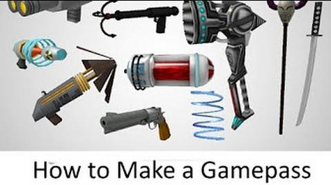 How to Create a Game Pass in ROBLOX