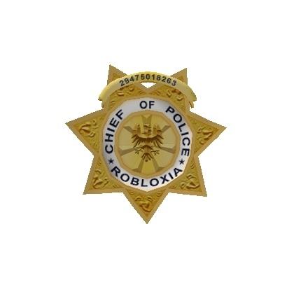 catalog police badge roblox wikia fandom powered by wikia
