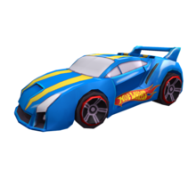 Blue Hot Wheels Quick & Sik 4