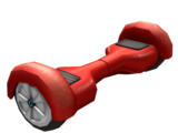 Red Rolling Hoverboard