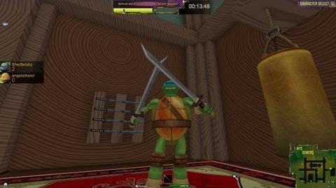 Teenage Mutant Ninja Turtles Turtle Trouble Fly-through