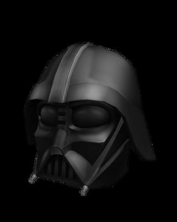 Darth Vader Mask Roblox Wikia Fandom