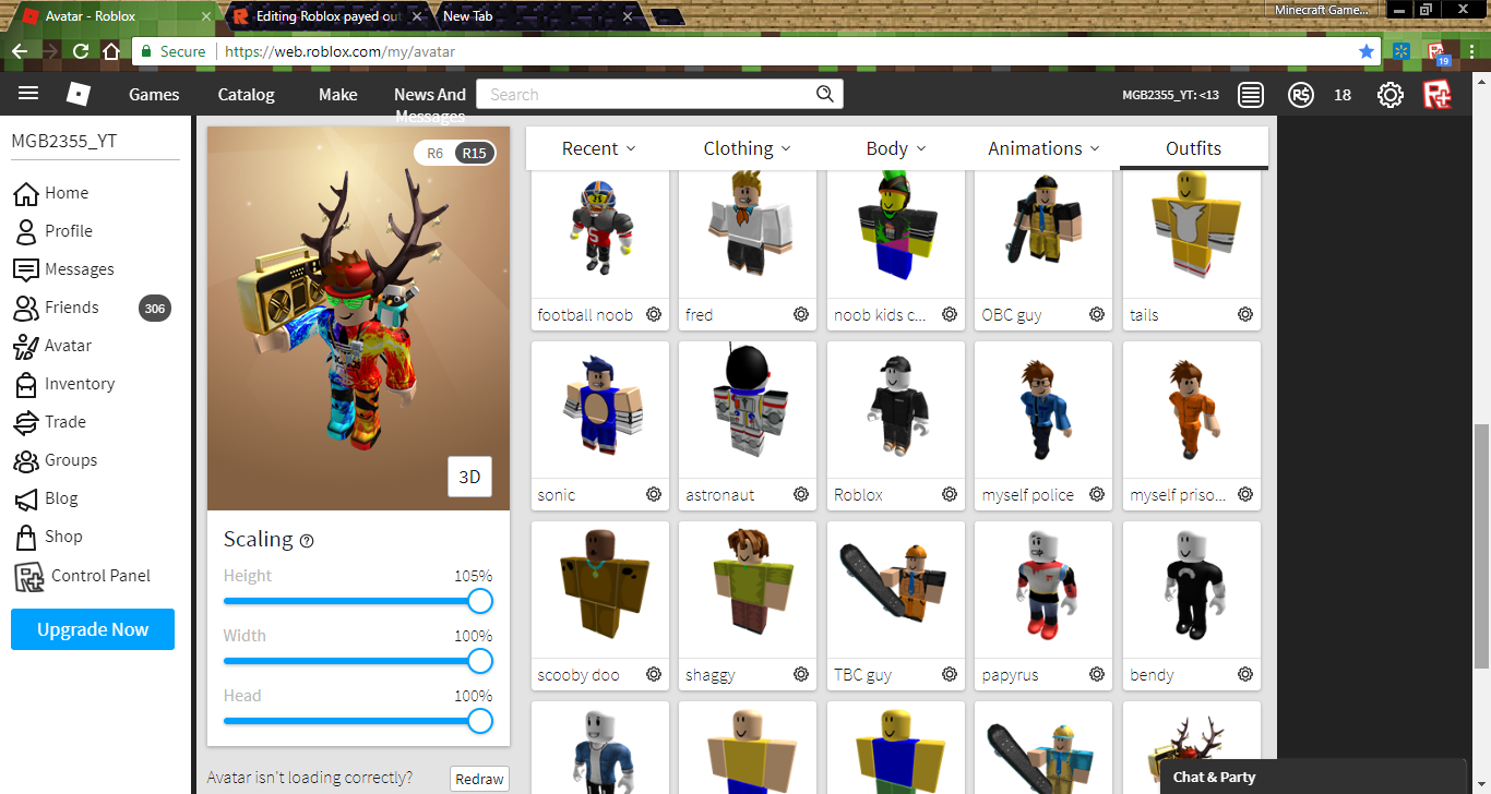 user blog mgb2355  roblox payed outfit filter bug in mobile