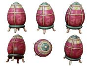 Unused Dragonborn Fabergégg