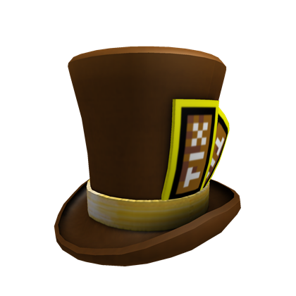 Brown Tix Top Hat Roblox Wikia Fandom Powered By Wikia