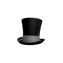 His top hat